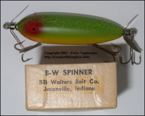 B-W Spinner, Jasonville Indiana